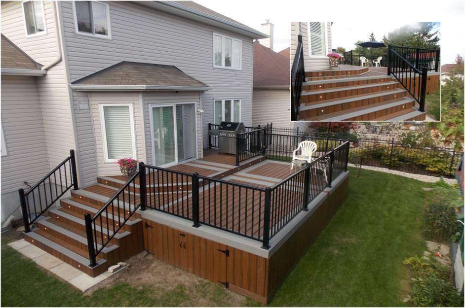Ottawa Trex Deck Build In Kanata