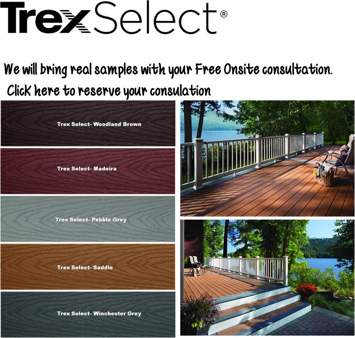 Trex Decking Colors >> Trex Decks-MyDeck.ca