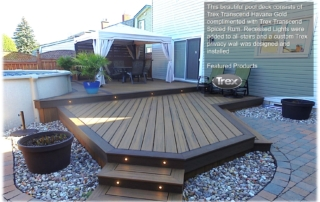 Trex Deck building in Kanata