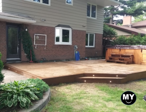 Beautiful Low Level Trex Deck in Nepean , Ontario