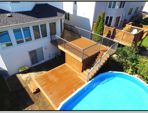 2nd Storey Trex Composite Deck In Kanata, Ontario