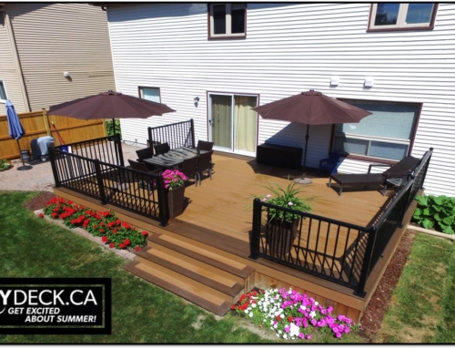 Trex Composite Deck Build In Kanata, Ontario